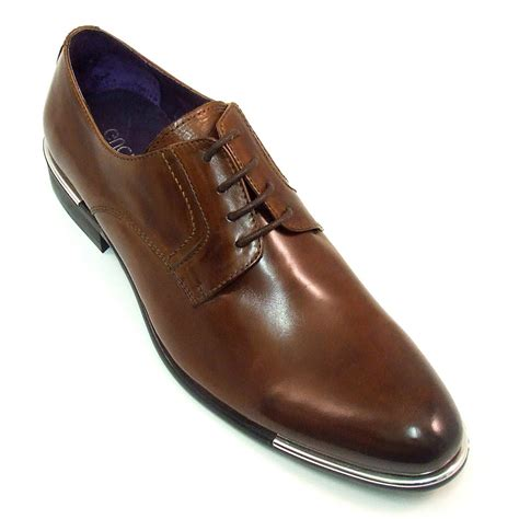 funky derby leather mens shoes by gucinari