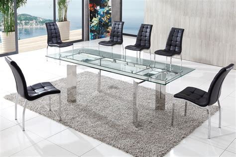 modern glass dining table luxury modern glass dining table tedxumkc decoration