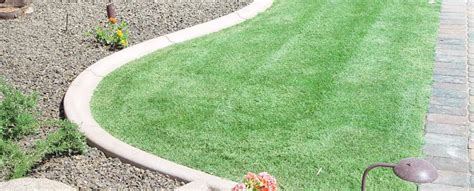 Creative Backyard Playground Ideas Concrete Landscape Borders Concrete Curbing Curb