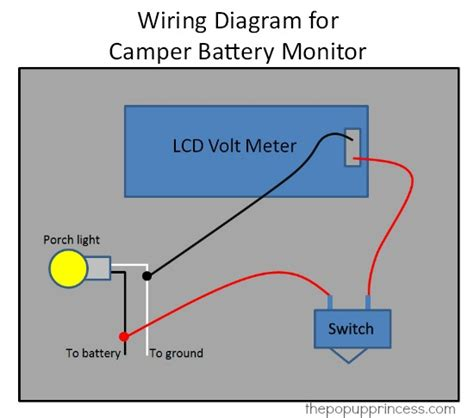 battery wiring diagram tent trailer 35 wiring diagram