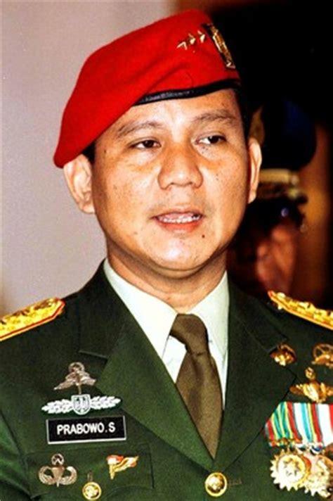 biography prabowo subianto biografi prabowo subianto mantan perwira tinggi tni