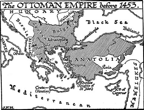 ottoman empire map rise of the ottoman empire