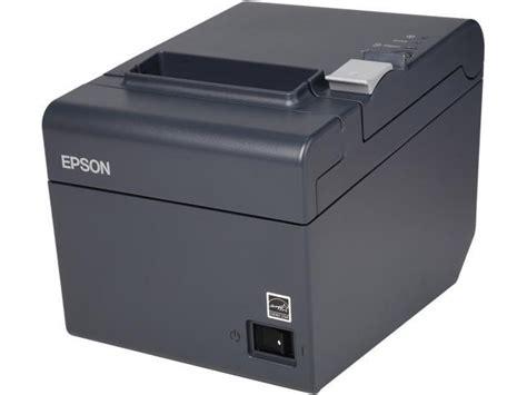 Print Pos epson tm t20ii pos thermal receipt printer gray