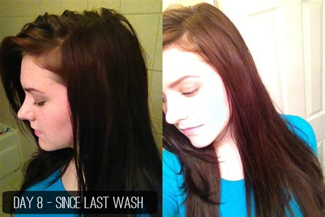 wash hair day after coloring 3 month update the ultimate water only hair washing