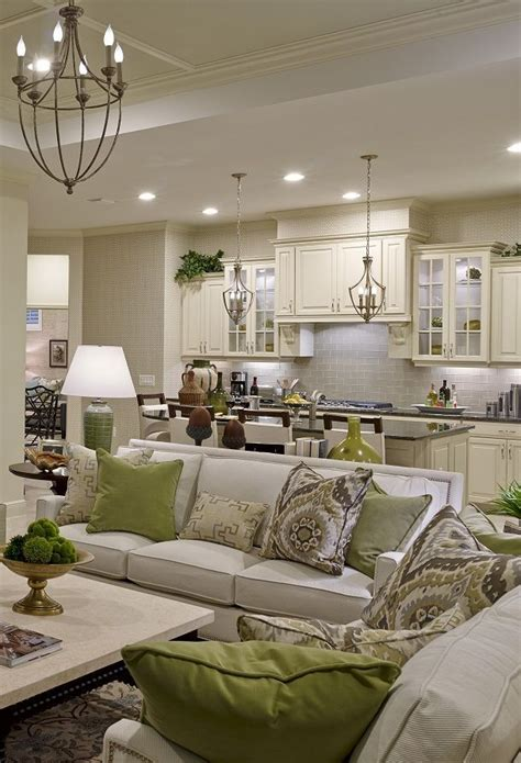 17 best ideas about kitchen living rooms on