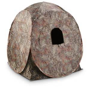 Pop Up Hunting Blind Guide Gear Ground Pop Up Hunting Blind 292156 Ground