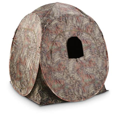 Pop Up Ground Blind Guide Gear Ground Pop Up Hunting Blind 292156 Ground