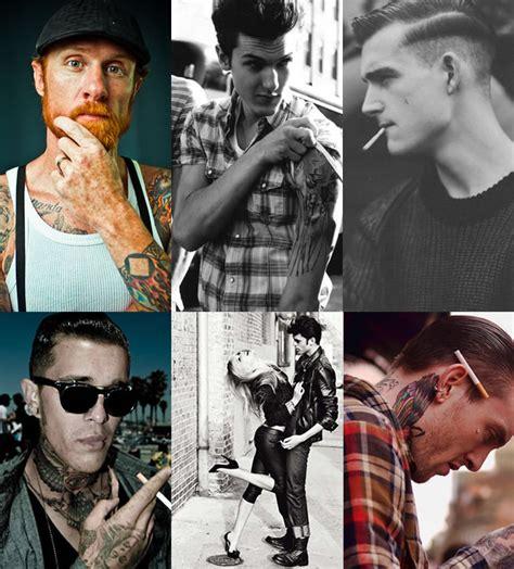 men s rockabilly style fashionbeans rockabilly men