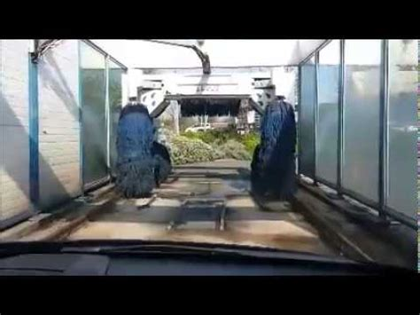 Total Garage Car Wash by Going Through The Warrington Tesco Garage Car Wash On