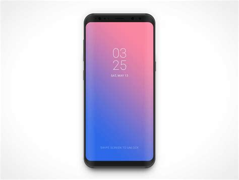 samsung galaxy s8 android smartphone psd mockup psd mockups