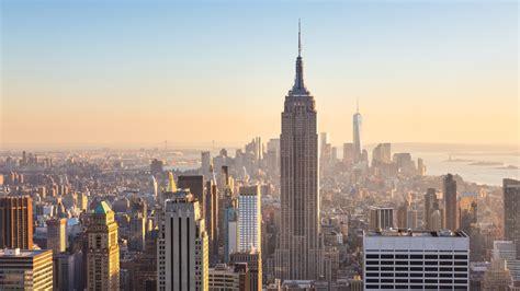 new york wallpaper for laptop new york city buildings at day sunlight hd 4k wallpaper