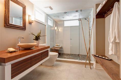 Incroyable Carrelage Salle A Manger Salon #8: decoration-salle-bain-zen-meuble-vasque-bois-cabine-douche-parois-verre.jpg