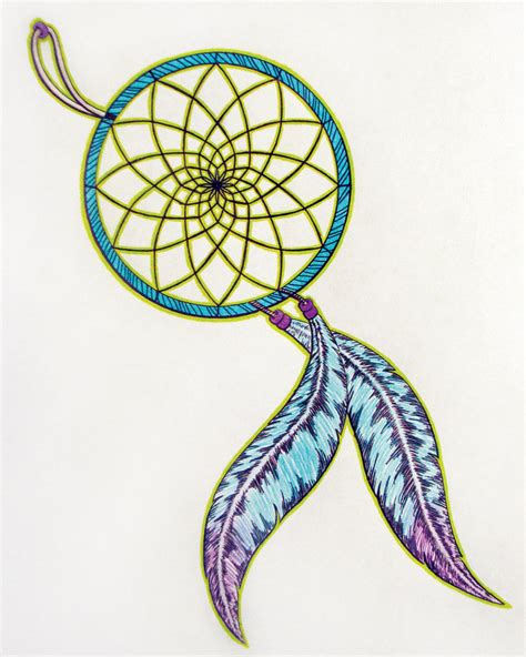 colorful dreamcatcher tattoos catcher images designs
