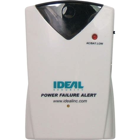 ideal security wireless power failure sensor with 90 db