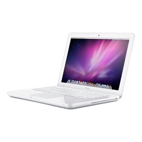 apple refurbished refurbished white apple macbook 13 3 quot core 2 duo 2 26