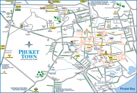 town map phuket town map phuket thailand mappery