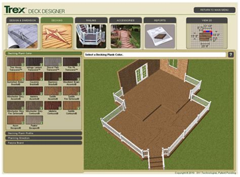 deck design software deck designs free deck design software