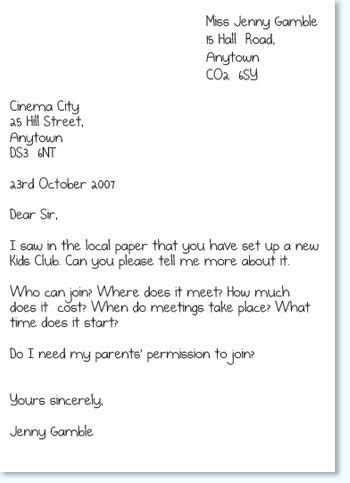 Formal Letter Template Ks2 25 Best Ideas About Formal Letter Writing On Formal Business Letter