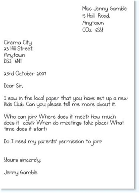 Formal Letter Year 3 25 Best Ideas About Formal Letter Writing On Formal Business Letter