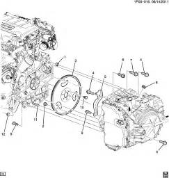 chevrolet cruze engine to transmission mounting