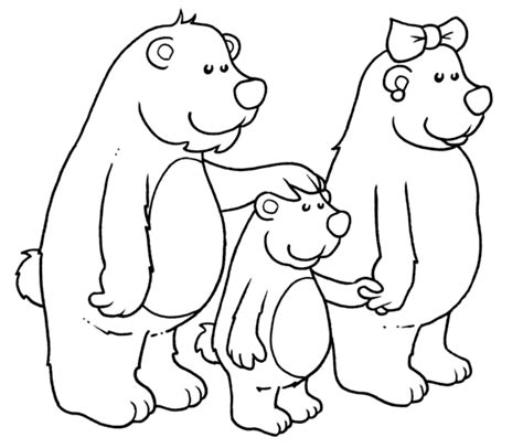 three bears coloring page bears coloring pages goldilocks and the three bears crafts