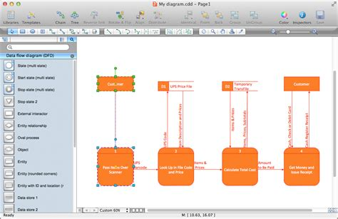 data flow diagram program data flow diagrams solution conceptdraw