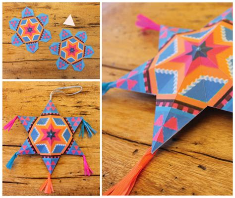 Mexican Paper Crafts - 4 and easy to make mexican paper craft decorations