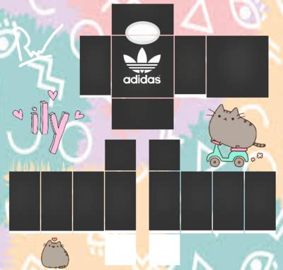 roblox shirt template adidas by xretha ppgx on deviantart