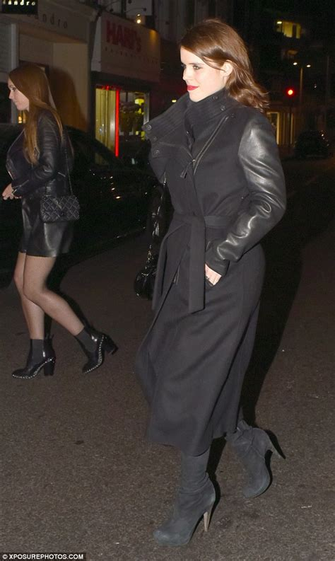 Princess Beatrice Rocks The Bans by Princess Beatrice And Eugenie Wear Rock Style For