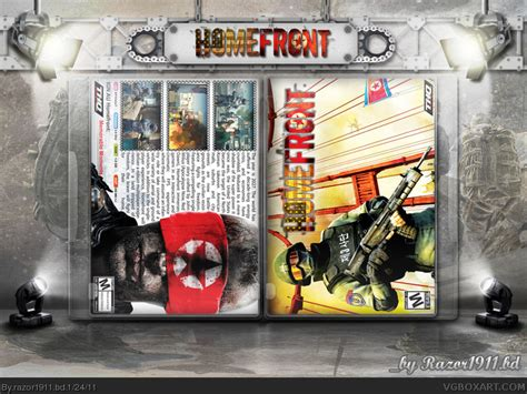 Bd Ps3 Homefront homefront pc box cover by razor1911 bd