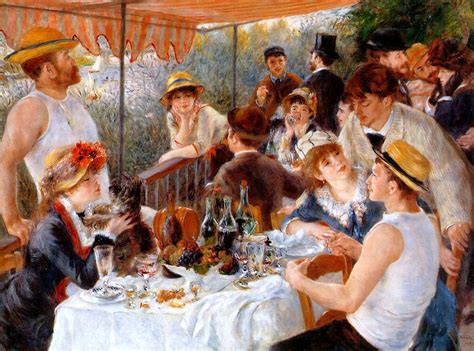 gambar luncheon of the boating party fl 226 nerie renoir s luncheon of the boating party