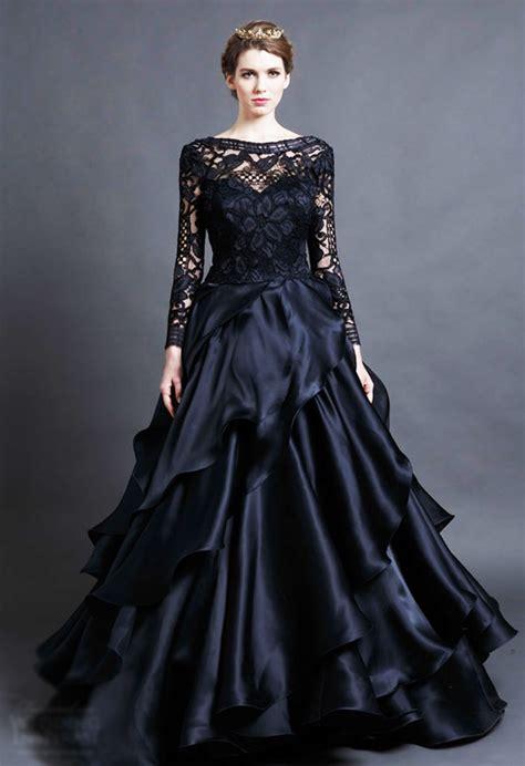 Royal Black royal black dress min quinceanera