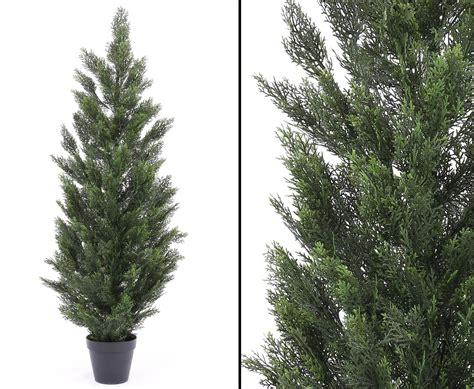 kunstpflanzen wetterfest wetterfeste kunstpflanzen als zypressen baum mit 150cm kaufen