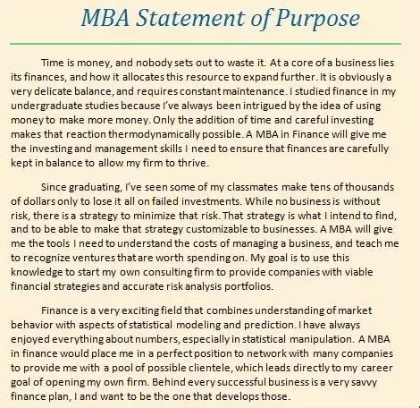 Mba In Finance Career Goals Essay Sles by Where Can I Find Mba Sop Exles Quora