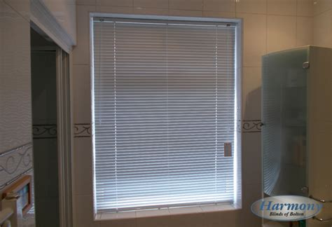 Cheap Bathroom Venetian Blinds Metal Venetian Blind In A Bathroom Harmony Blinds Of
