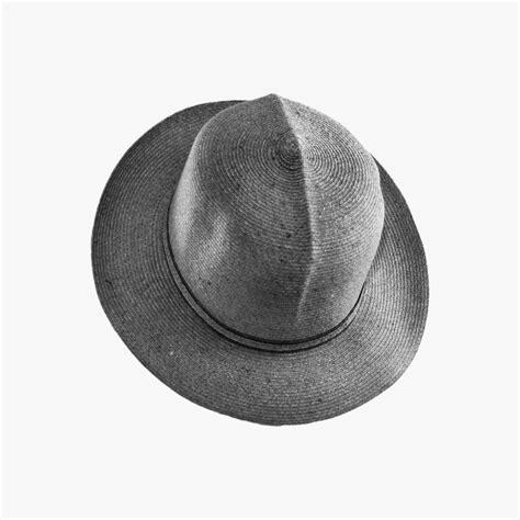 cappello modello coloniale in treccia di canapa