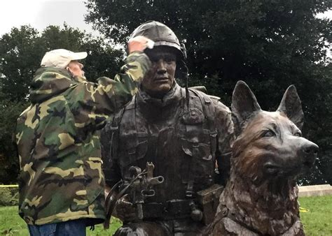war dogs veterans war monument unveiled k 9 magazine