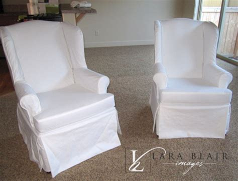 white slipcovers for wingback chairs huge studio news modern prairie girl