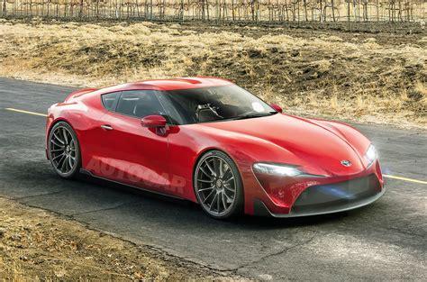 New Toyota Supra New Toyota Supra And Bmw Z5 Gear Up For 2018 Assault Autocar
