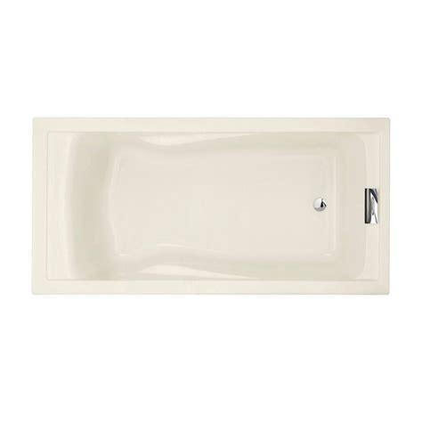 deep standard bathtub american standard evolution 6 ft reversible drain deep