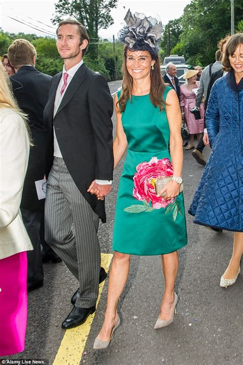 Wedding Attire In Ireland by Pippa Middleton Wears Emerald Green For Wedding