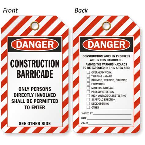 printable danger tags do not remove barricade osha danger tag holder sku tg 0525