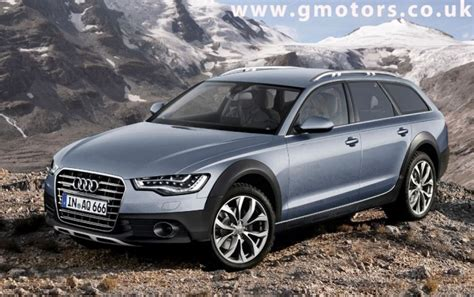 Audi Allroad 2012 by 2012 Audi A6 Allroad Quattro Rendered