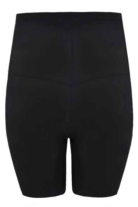 Highwaist One Black Size 27 30 maidenform power slimmer black high waist thigh plus size 14 16 18 20