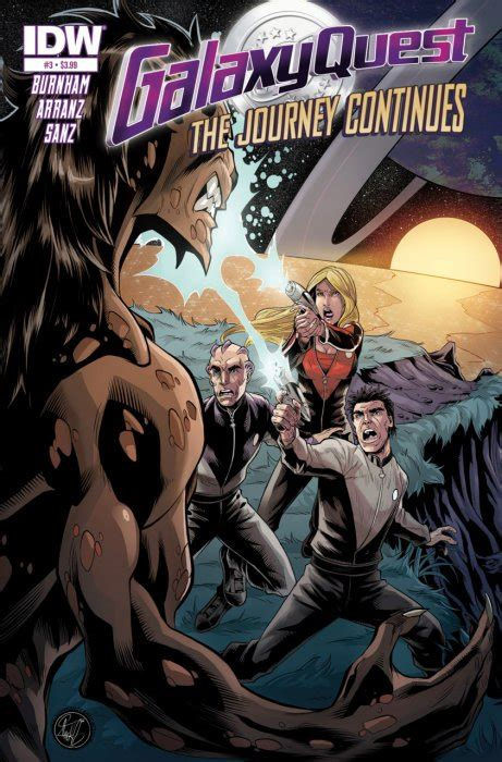 quest journey trilogy 2 1406360813 galaxy quest journey continues 1 idw publishing comicbookrealm com