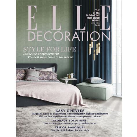 elle decor magazine may 2016 elle decoration uk