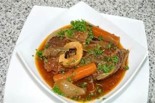 jarret de b蜩uf brais 233 224 la bi 232 re les recettes de cuisine