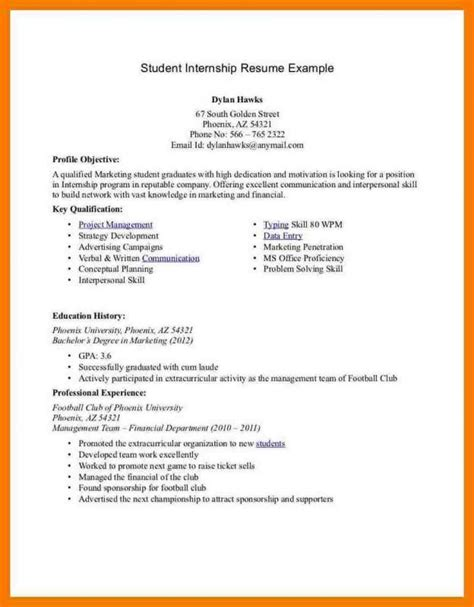 How To Write A Resume For College by How To Write A Resume For College Students