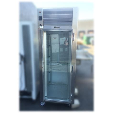 Used Commercial Glass Door Refrigerator Used Traulsen 29 Inch Glass Door Refrigerator