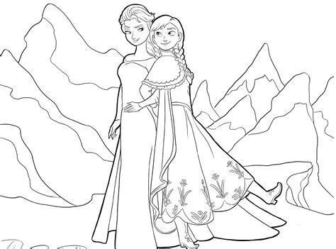 Dibujos Para Pintar Frozen Disney | dibujos de frozen para pintar princesas disney